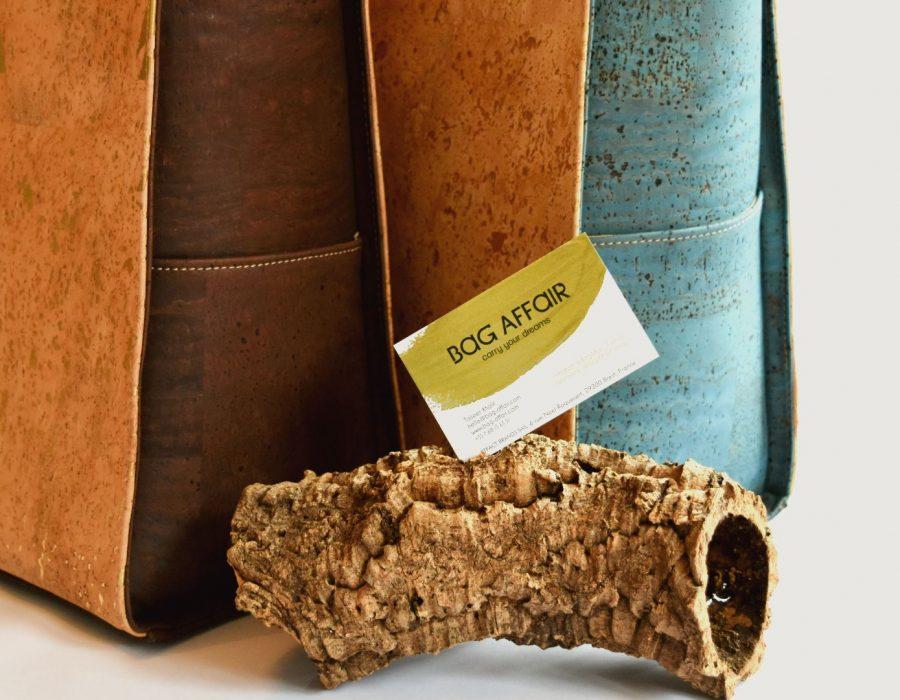 LR Bossies en situation - Bag Affair cork bags work bags business bags day bags women bag sac travail sac femme