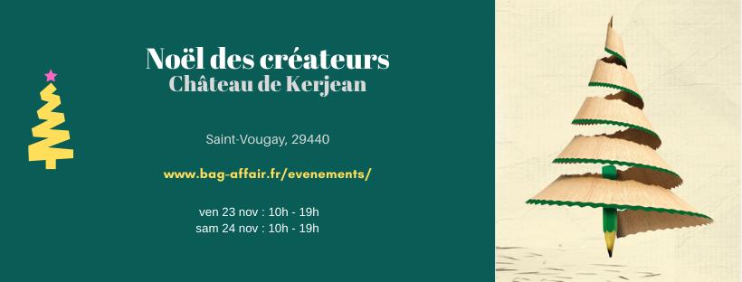 Noel des Créateurs Château de Kerjean - Bag Affair