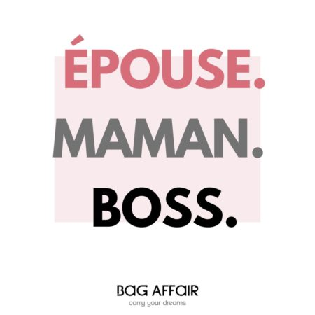citation visuelle Épouse – Maman - Boss