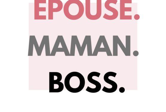 citation visuelle Épouse – Maman - Boss
