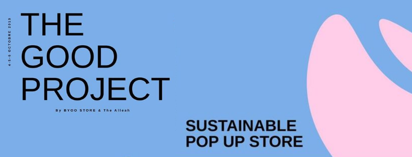 The Good Project Pop Up with Bag Affair